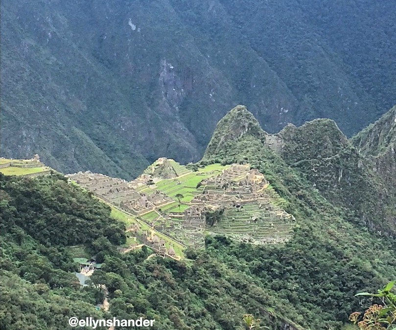 Climbing/Hiking at Machu Piccu